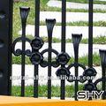 Porcellana produzione decorativi in ferro battuto picchetto recinzione/recinzione metallica per la casa, giardino, villa