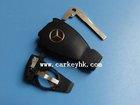 Remote Key Case for Benz Mercedes SPRINTER C S E Class Uncut Key Blade Shell Fob