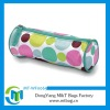 Fashion large round dot zip pencil case for school kids