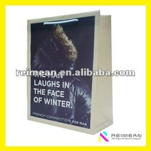 2012 REIMEAN new design handmade template gift bag for packaging