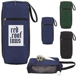 Golf mesh shoe bag for men