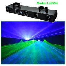 5 head GB stage laser light / laser show system