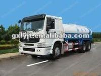 HOWO water tank 8m3 truck Spraying vehicle