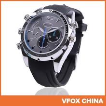 8GB/16G 1080P HD Mini DVR Waterproof Camera Watch IR Night Vision 1920*1080P Watch Camera