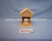 Wooden bird home