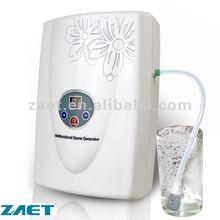 Portable alkaline water generator