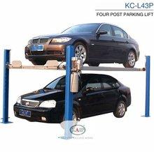 KC-L43P parking 4 Post mobile car lift