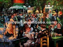 International figure oil painting by talent artist