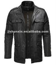Fashion men's winter jacket,2 in 1 jacket,