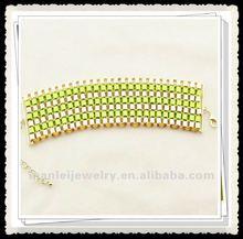 2012 new designed nylon rope and stainless steel bracelet