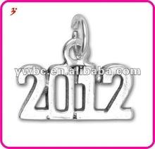 Yiwu new design years 2012 pendant charm jewelry (H102054)