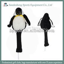 golf club set animal head cover