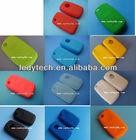 VW key bag , 3 button remote key blank, silicon key cover vw