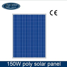 Solar Power High Efficiency 150 watt Poly Solar Panel