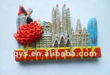 2012 souvenir fridge ceramic magnet