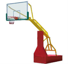 Electro-hydraulic basketball stands/hoops/systems