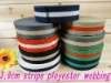 3.8cm Stripe Polyester Webbing Used For Belts/Bags