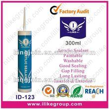 Paintable Acrylic Silicone Sealants(SGS,REACH)