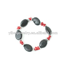 2012 spring trendy bangle bracelet with lava