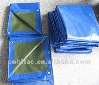 Heavy Duty Water Resistant Vinyl 12'X16' Blue Poly Tarp