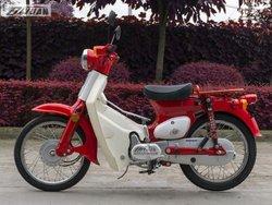 super cub 110cc gas light pocket motorcycle