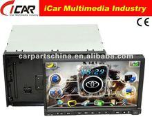 NEW/HOT Double Din 7'' touch screen,GPS, Bluetooth, TV, PIP, IPod, 3D UI Car DVD