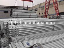 hot galvanized steel tube/BS1139 scaffolding tube/workfalse