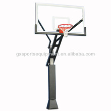 Adjustable basketball system/stand for home use