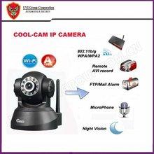 MJPEG WIFI Pan/tilt wireless ip camera