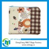 cute design multi color fabric pencil case promotional bag