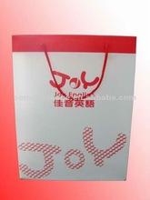 2012 Fashionable Paper Shopping Bag