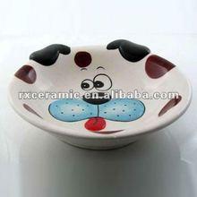 Hand-Painted Animal Mile Bowl -Dog