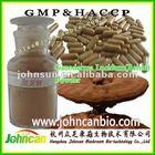 Reishi (Ganoderma lucidum) mushroom powder, dry mushroom smash