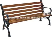 Outdoor Antique Wood & Metal Chair