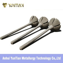 Same as Mononcon high strength metallurgical dart for optimizing molten steel