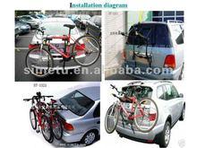 car mountain bike/bicycle rack/carriers/bike accessories