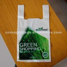 2013 Top Sale Printed T-shirt Plastic Shopping Bag