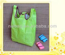 Hot sale Foldable nylon shopping bag