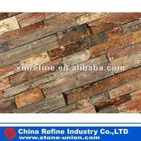 Natural flat rusty ledgestone/culture stone