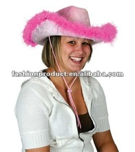 Western Theme Party - Pink Cowgirl Hat