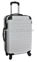 2012 plastic hardside abs luggage case