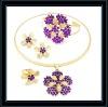 Artificial kundan polki jewellery set