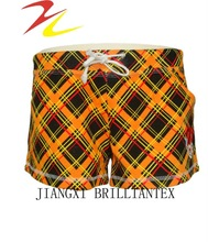 2012 newly design printed girl short pants