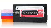 Mobile phone cover phone accessories Cassette Tape Silicon Case for Samsung Galaxy S2 i9100