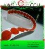 "5/8"" 16mm Red Self-adhesive Nylon Hook and Loop Velcro dot"