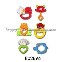 Plastic Baby Rock Bell Toy B02896