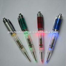 Plastic Lighted Ballpoint Pen for promotion