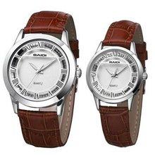 2 Years Warranty Leather Watches Quartz Movement