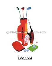 Leisure toy golf set/mini plastic outdoor games