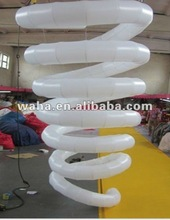 colorful infaltable lighting christmas decoration columns/pillars decoraitons/christmas decoration 2012